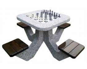Stół do gry w szachy i chińczyka HUSE