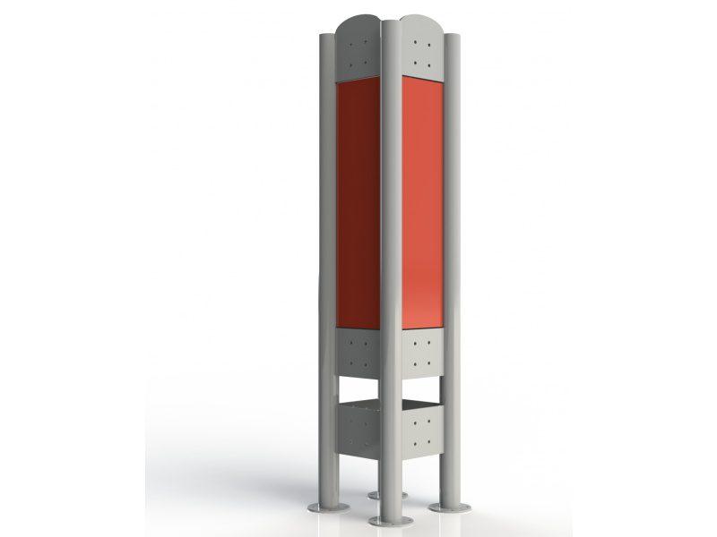 Pylon poczwórny (ATLAS)