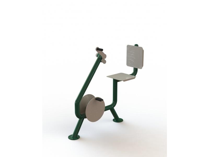 Bike with grinder