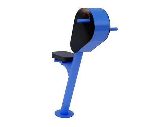 Młynek z ładowarką USB i siedziskiem